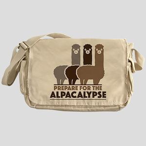 Prepare For The Alpacalypse Messenger Bag