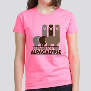 Prepare For The Alpacalypse Women's Dark T-Shirt
