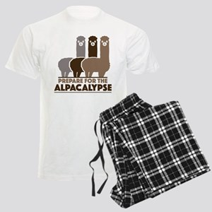 Prepare For The Alpacalypse Men's Light Pajamas