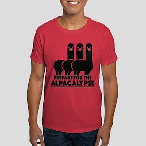 Prepare For The Alpacalypse Dark T-Shirt
