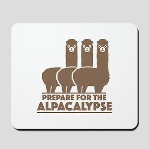 Prepare For The Alpacalypse Mousepad