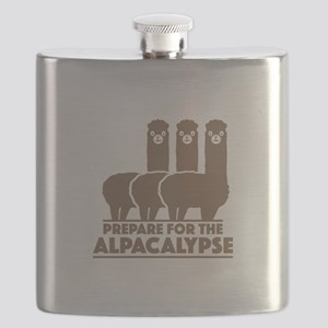 Prepare For The Alpacalypse Flask