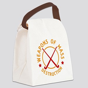 Field Hockey Weapons of Destruction Canvas Lunch B