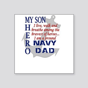 Navy Dad Sticker