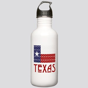 Lone Star Chevron Stainless Water Bottle 1.0L