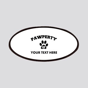Personalized Dog Pawperty Patch