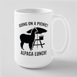 Going On A Picnic? Large Mug