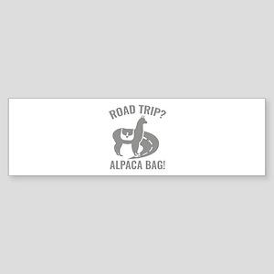 Road Trip? Sticker (Bumper)