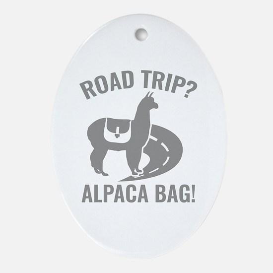 Road Trip? Ornament (Oval)