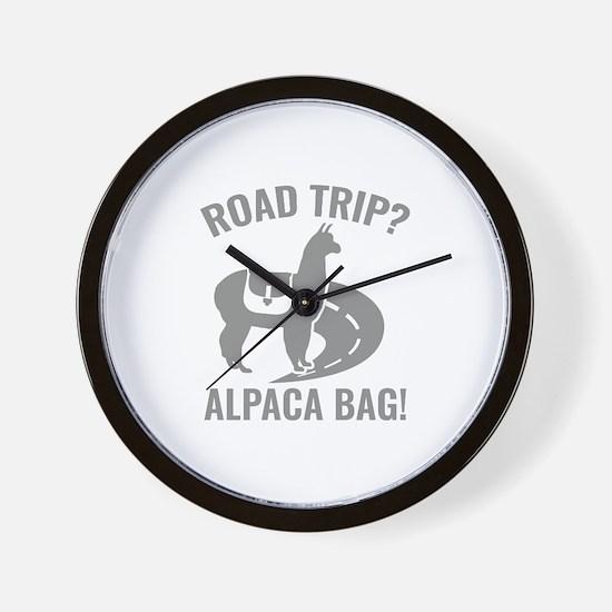 Road Trip? Wall Clock