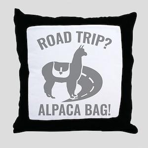 Road Trip? Throw Pillow