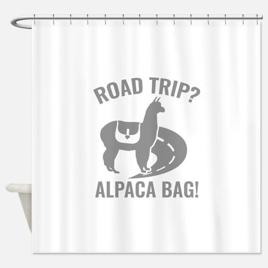 Road Trip? Shower Curtain