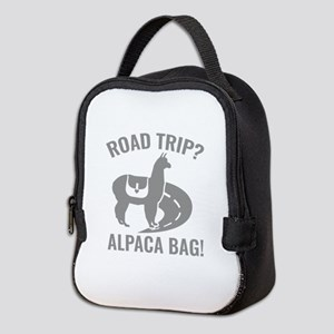 Road Trip? Neoprene Lunch Bag