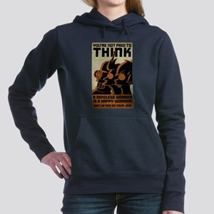 Futurama You're Not Paid Women's Hooded Sweatshirt