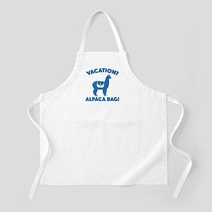 Vacation? Alpaca Bag! Apron