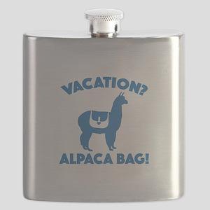 Vacation? Alpaca Bag! Flask