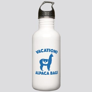 Vacation? Alpaca Bag! Stainless Water Bottle 1.0L