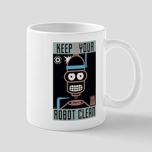 Futurama Keep Your Robot Clean Mug