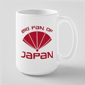 Big Fan Of Japan Large Mug