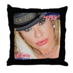 Air Force Amy - Burning Man 2015 Throw Pillow