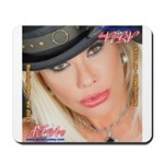 Air Force Amy - Burning Man 2015 Mousepad