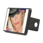 Air Force Amy - Burning Man 2015 Hitch Cover