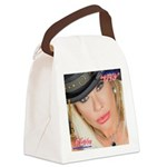 Air Force Amy - Burning Man 2015 Canvas Lunch Bag