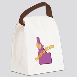 Potato State Canvas Lunch Bag