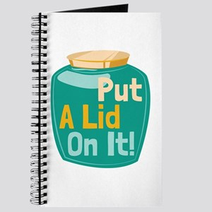 Put A Lid On It! Journal