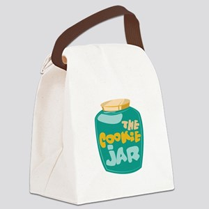The Cookie Jar Canvas Lunch Bag