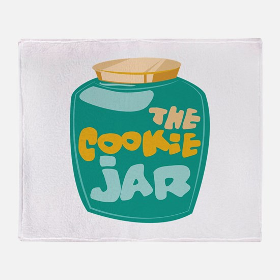 The Cookie Jar Throw Blanket
