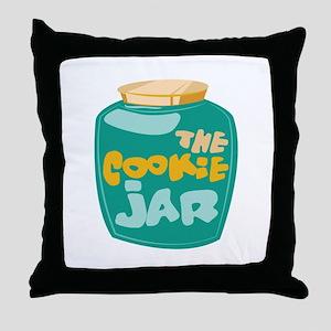 The Cookie Jar Throw Pillow