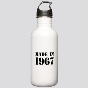 Made in 1967 Sports Water Bottle