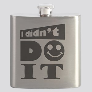 i didnt do it Flask