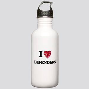 I love Defenders Stainless Water Bottle 1.0L