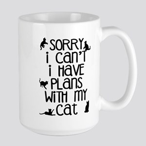 Sorry - Plans With My Cat Mugs
