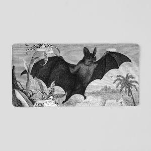 Vampire Bat Aluminum License Plate
