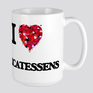 I love Delicatessens Mugs