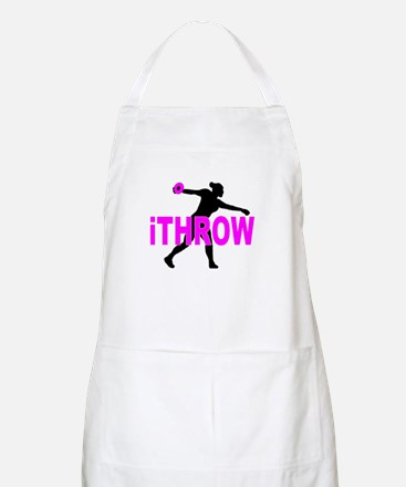 Pink Discus Apron