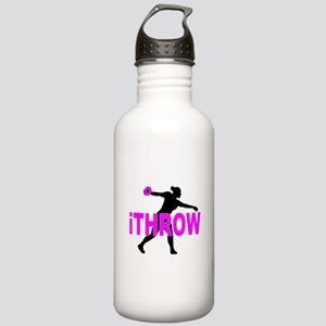 Pink Discus Stainless Water Bottle 1.0L
