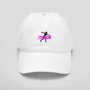 Pink Discus Cap