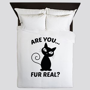Are You Fur Real? Queen Duvet
