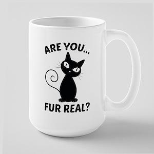 Are You Fur Real? Large Mug