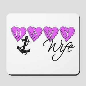 Navy Wife ver2 Mousepad