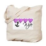 Navy Wife ver2  Tote Bag