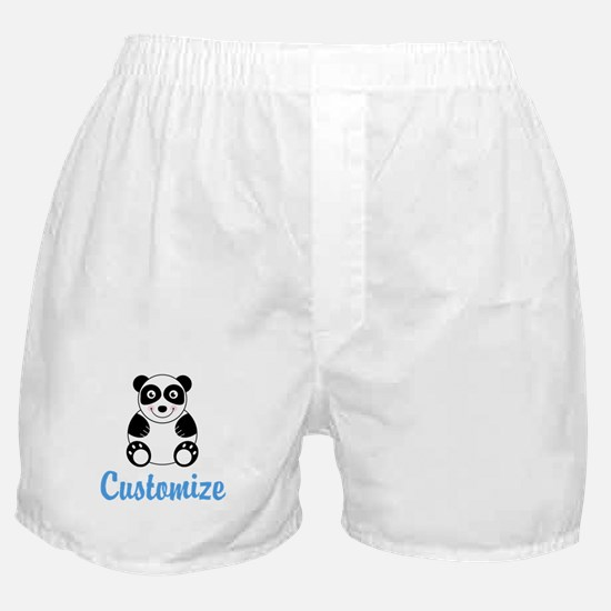 Custom Panda Boxer Shorts