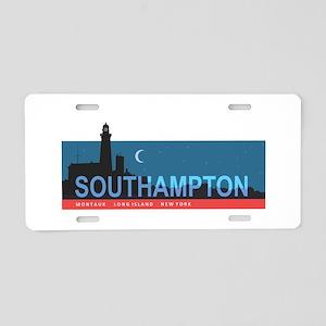 Southampton - Long Island. Aluminum License Plate