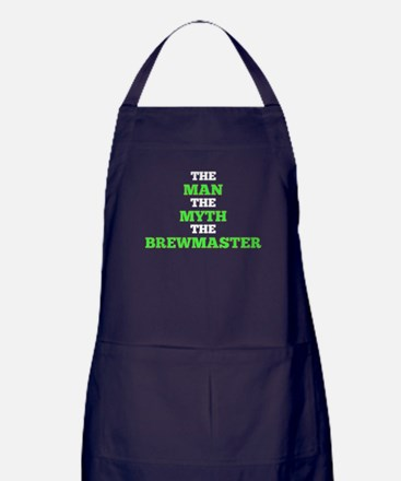 The Man The Myth The Brewmaster Apron (dark)