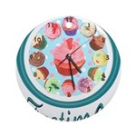 Eileen's Teatime Cupcakes Round Ornament