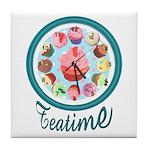 Eileen's Teatime Cupcakes Tile Coaster